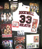 High School Sports Memorabilia Shadow Box