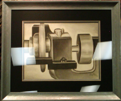 Industrial Charcoal Drawing #2