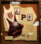 Olympic Memorabelia Shadow Box
