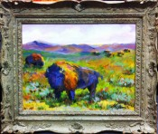 American Bison by Sharon Hodges