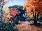 Autumn at Lost Maples by Kyle Wood 9x12