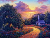 Evening Praise by Kyle Wood 20x16