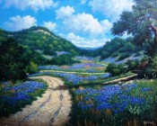 Hill Country Beckoning by Kyle Wood 18x24