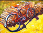Mariannes Bike by Sheri Jones 16x20