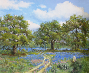 Texas Spring II by Florent Baeke 20x24