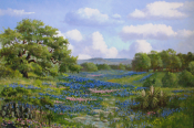 Texas Spring by Florent Baeke 24x36