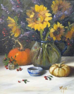 Sunflower By Pat Meyer