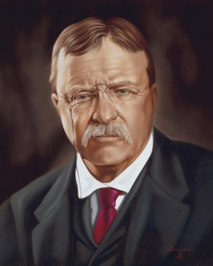 Theodore Teddy Roosevelt by Rick Timmons