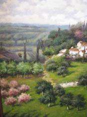 30x40 Tuscany Landscape
