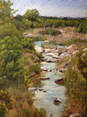 Llano River By Jacquie McMullen