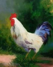 Farm Yard King By P. Charles