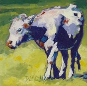 Heifer Calf Two Step By Debbie Lincoln