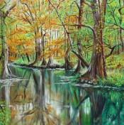 Texas Stream By Hebe Brooks