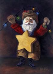 Two Step Santa By Kyle Wood