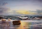 Abandono En La Playa By Bacci