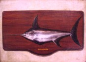 Antiqued Swordfish By Tapia