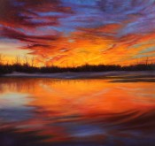 Texas Sunset By Hebe Brooks