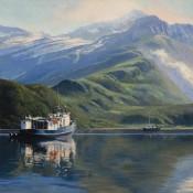 Geographic Bay , Alaska By Kim Hill