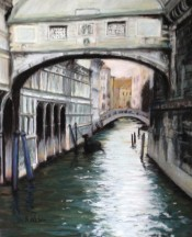 Venice Canal By Jacquie McMullen