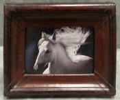 Saddle Leather Frame By Mercier