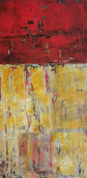 Red And Yellow By Doris Vasek