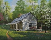 Appalachian Retreat In Spring By Kyle Wood