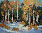 Fall Snow By Ellie Taylor