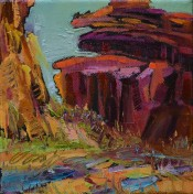 Canyon After The Rains By Sharon Hodges