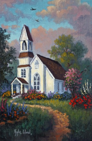 Chapel Garden By Kyle Wood