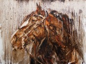 Horse In Oil By James Swanson