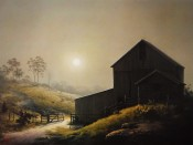 A Misty Country Morn - Dalhart Windberg