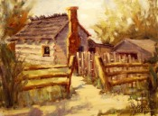 Old Homestead By Ann Rogers