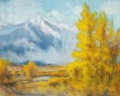Early Morning October Splendor By Lou Ann Bower