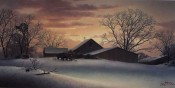 First Light On A Wintery Day - Dalhart Windberg