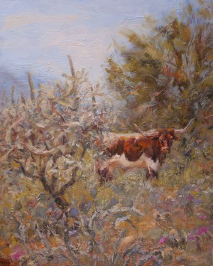 Garden of the Longhorn By James Swanson