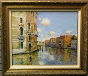 Venice le Grand Canal By Jean Kevorkian