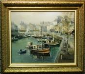 Port de St. Tropez By Lucien Delarue