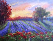 Sunrise Garden By Sheri Jones