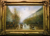 Boulevard In France By T. Pencke