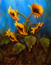 Sunflower Dance By Pat Meyer