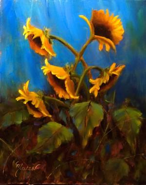Sunflower Dance By Pat Meyer