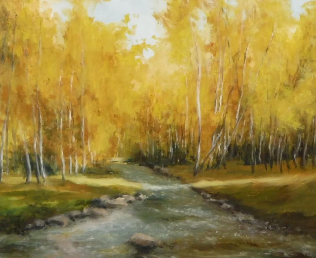Golden World By Lou Ann Bower