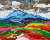 Landscape I By Arie Van Selm