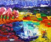 Landscape II by Arie Van Selm