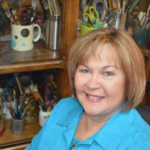 Artist Becky Hicks