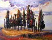 Italian Cypress By Sheri Jones