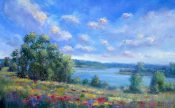 Shoreline Wildflowers By Sheri Jones