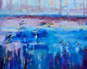 Shorebirds By Lynn Rushton