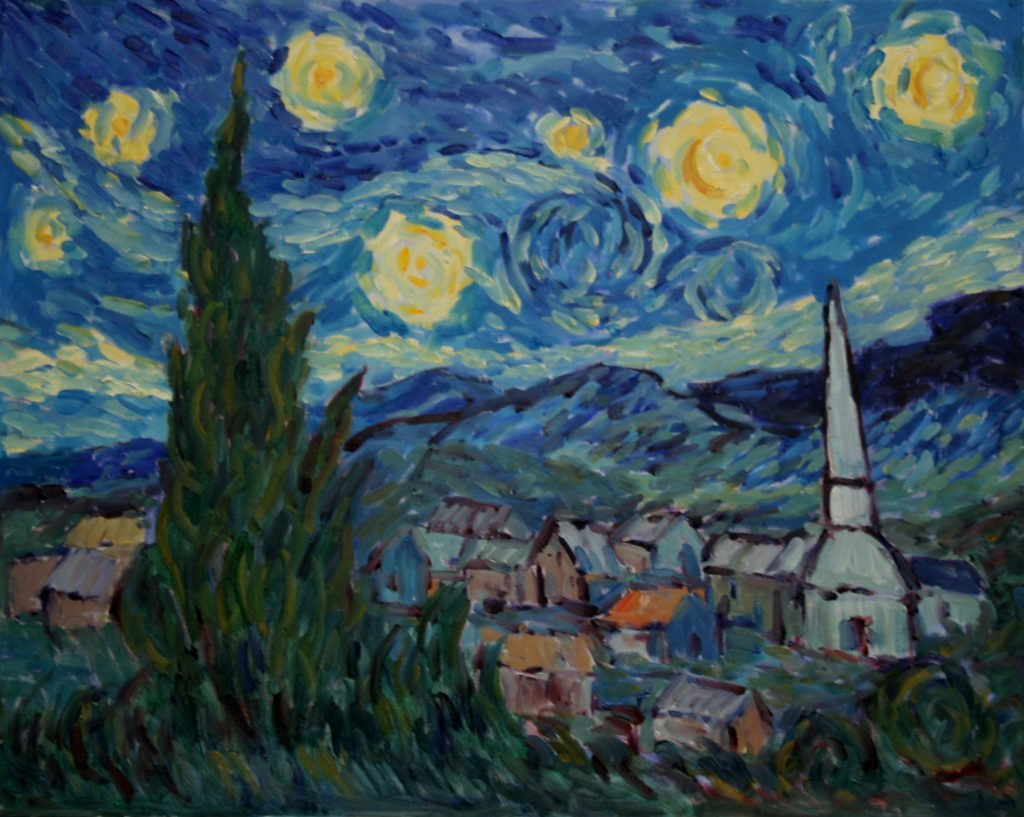 Starry Night By Ellie Taylor