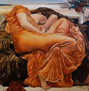 Flaming June By Steve Hahn
